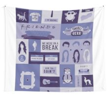 Friends TV Show Wall Tapestry