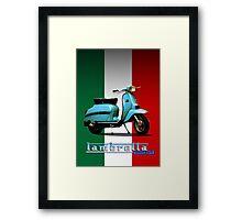 Lambretta Framed Print