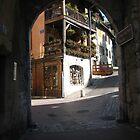 Annecy Arches by Carol Ferbrache