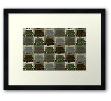 Jeep Camo Framed Print