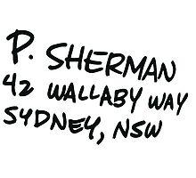P Sherman 42 Wallaby Way by kramprusz
