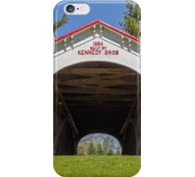 Longwood Covered Bridge iPhone Case/Skin