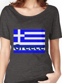 Greece Women's Relaxed Fit T-Shirt