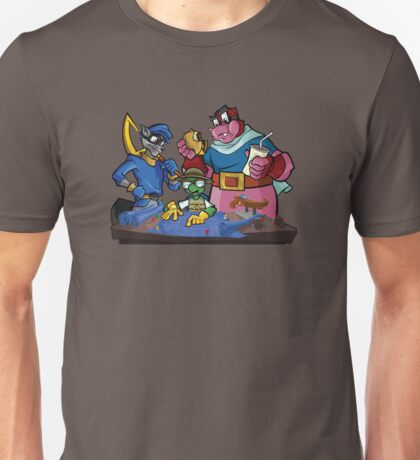 Sly Cooper and the Gang Unisex T-Shirt