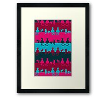 Bright Cats Framed Print
