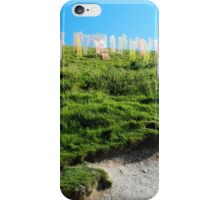 Field of Prayer Flags, IOW  iPhone Case/Skin