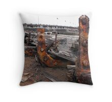 Laying for years Throw Pillow