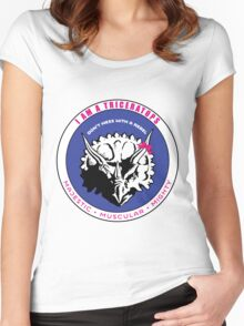 I AM A TRICERATOPS Women's Fitted Scoop T-Shirt
