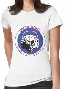 I AM A TRICERATOPS Womens Fitted T-Shirt