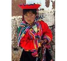 PEDDLER - PERU Photographic Print