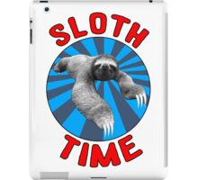 Sloth Time iPad Case/Skin
