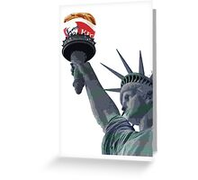 Kentucky Fried Freedom Greeting Card