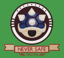 Never Safe - Mario Kart  Kids Tee