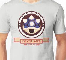 Never Safe - Mario Kart  Unisex T-Shirt