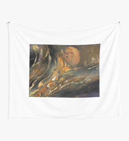 Washed Away Wall Tapestry