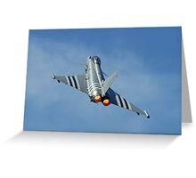 Afterburners On - Eurofighter Typhoon  - Farnborough 2014 Greeting Card