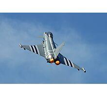 Afterburners On - Eurofighter Typhoon  - Farnborough 2014 Photographic Print