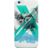 I Play with Dolls - Xenoblade Chronicles X iPhone Case/Skin