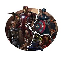 The Avengers 2 -Age of Ultron Logo by Morgan Green
