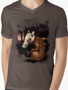 Cubone in the woods Mens V-Neck T-Shirt