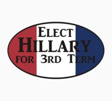 Elect Hillary for a 3rd term. by loki1982