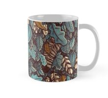 Leaves color blue Mug