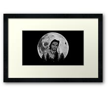 The Wolf is Coming Framed Print