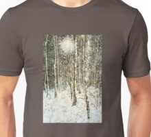 Winter Wood Unisex T-Shirt