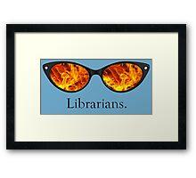 Librarians Framed Print