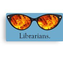 Librarians Canvas Print