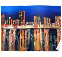 Bright Lights - Big City Poster