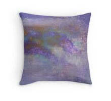 Empty Vibrations Throw Pillow