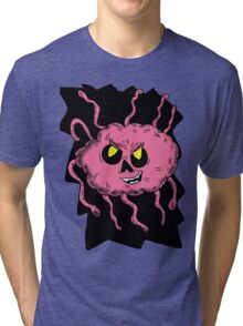 Brain Creature in Hole  Tri-blend T-Shirt
