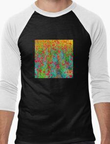 A Riot Of Colour.........................All Products Men's Baseball ¾ T-Shirt