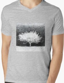 Snow Tree Mens V-Neck T-Shirt