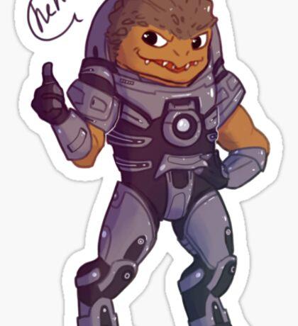 Grunt - Mass Effect Sticker