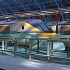 Eurostar at St pancras by woolleyfir