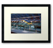 Eurostar at St pancras Framed Print