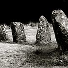 A stone circle,Dartmoor.. by Amanda Gazidis
