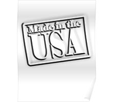 Made in the USA, American, America, Poster