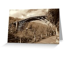 The Ironbridge View 5 Greeting Card