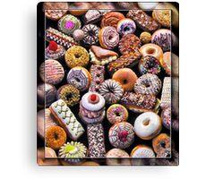 Holy Donuts, Batman!@#$%^& Canvas Print