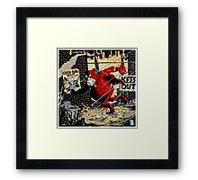 Mr Brilliant - Goolon Heart Framed Print