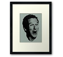 A Great Loss. Framed Print