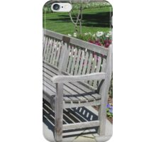 Bench Marks the Spot iPhone Case/Skin