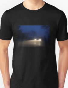 Fog Caught in the Headlights Unisex T-Shirt