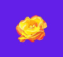Yellow Rose by masabo