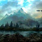 Dragon Mountain by autrouvetout