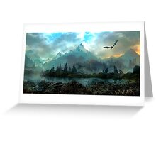 Dragon Mountain Greeting Card