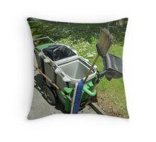 street-sweeping equipment Throw Pillow